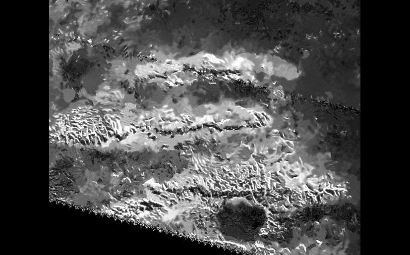 NASA: Cassini espía los picos más altos de Titán   Saturno   FOTOS ...