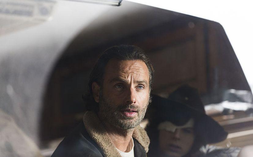 Andrew Lincoln es Rick Grimes y Chandler Riggs es Carl en 'The Walking Dead' (Foto: AMC)