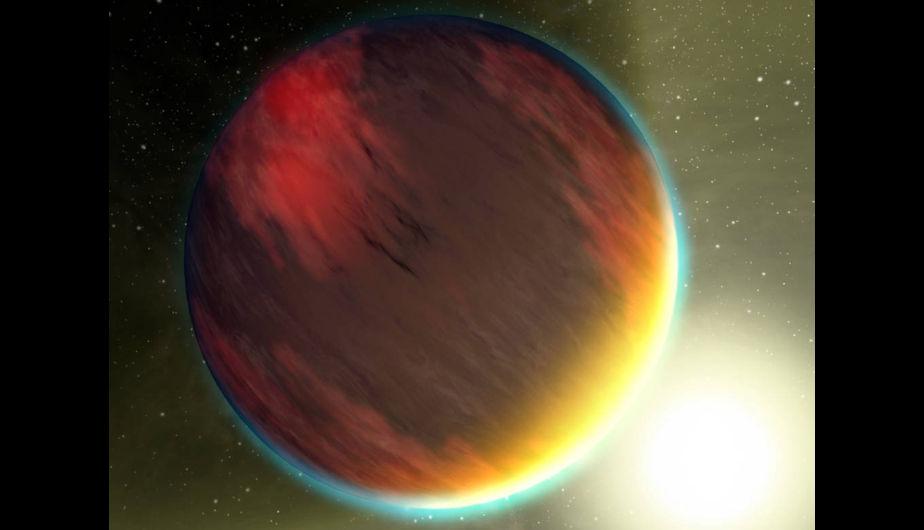 Uno de los primeros 5 planetas descubiertos por Kepler. En esta imagen se muestra un mundo de nubes como Júpiter que orbita muy cerca de su estrella. Es uno de los Hot Jupiters. (Foto: NASA/JPL-Caltech/T. Pyle)