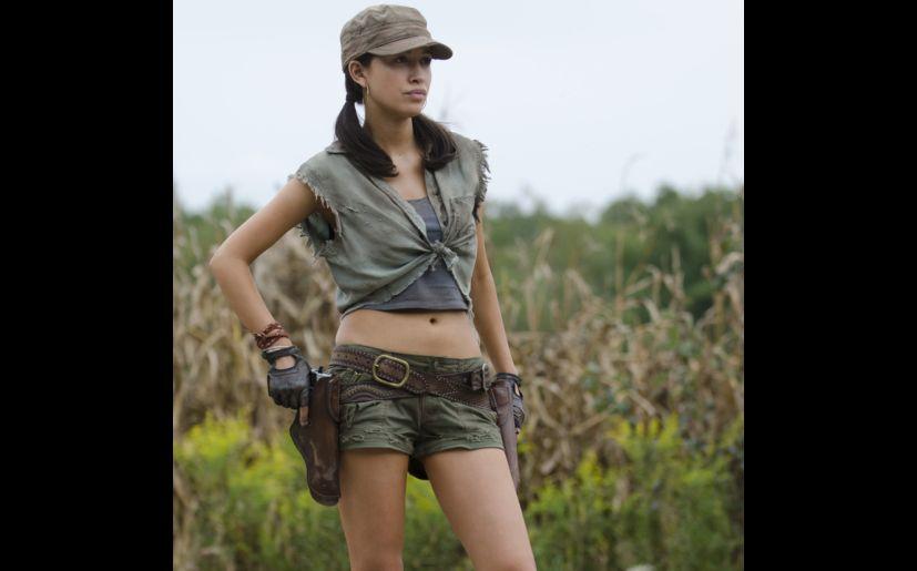 Christian Serratos es Rosita en 'The Walking Dead' (Foto: AMC)