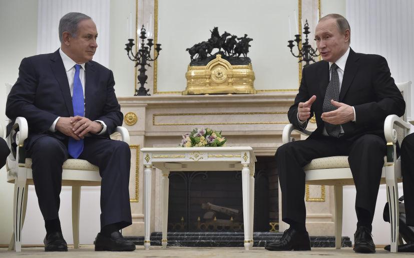 Resultado de imagen de visita netanyahu golan