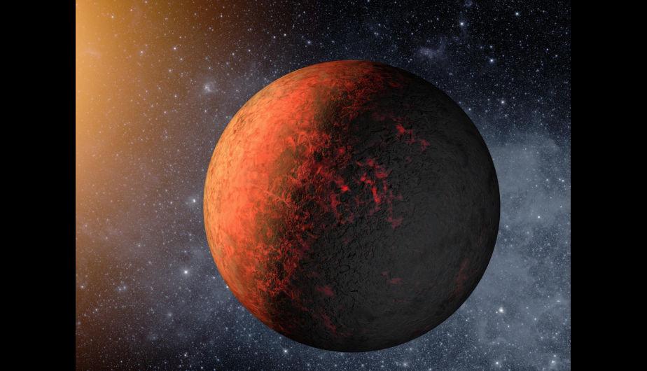Concepto artístico del Kepler-20e. La misión Kepler de la NASA descubrió los primeros planetas del tamaño de la Tierra orbitando alrededor de una estrella como el Sol fuera de nuestro sistema solar. Los planetas, llamados Kepler-20e y Kepler-20Ff, están demasiado cerca de su estrella para ser 'habitables', pero son los exoplanetas más pequeños confirmados alrededor de una estrella como nuestro Sol. (Foto: NASA/Ames/JPL-Caltech)