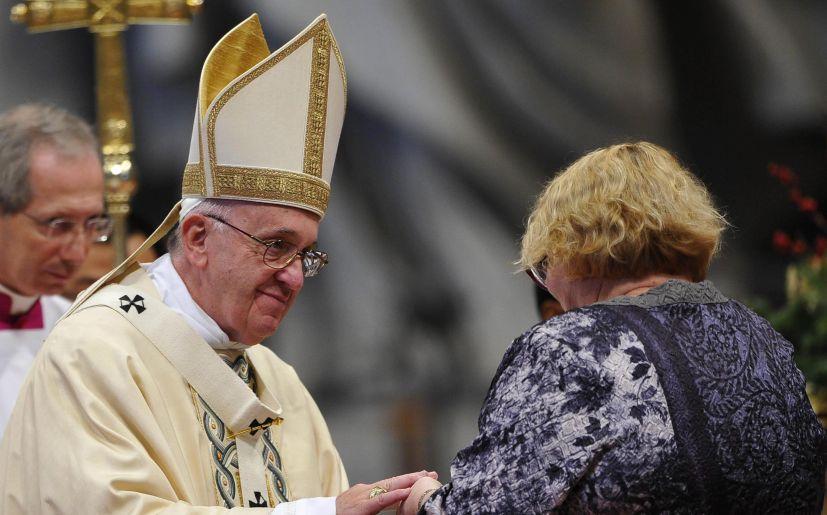 Resultado de imagen para papa francisco a la madre
