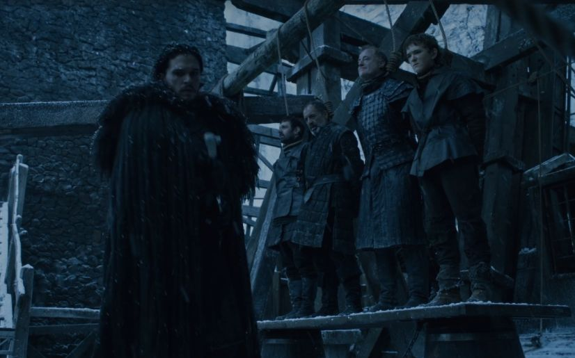 Game Of Thrones Adonde Ira Jon Snow Tras Abandonar La Guardia De La