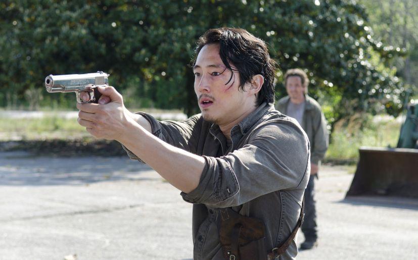 Steven Yeun es Glenn Rhee en 'The Walking Dead' (Foto: AMC)