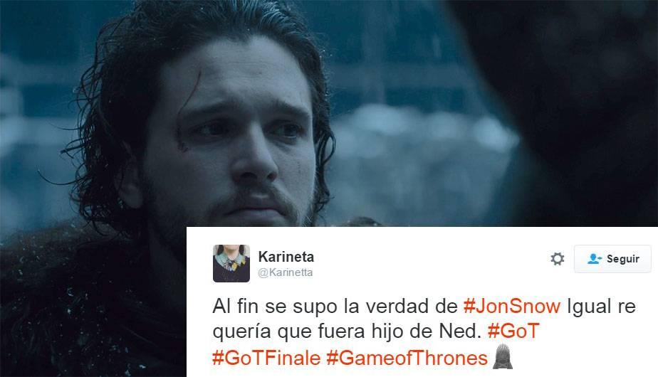 Game Of Thrones 6x10 Jon Snow Es Hijo De Lyanna Stark Y Asi