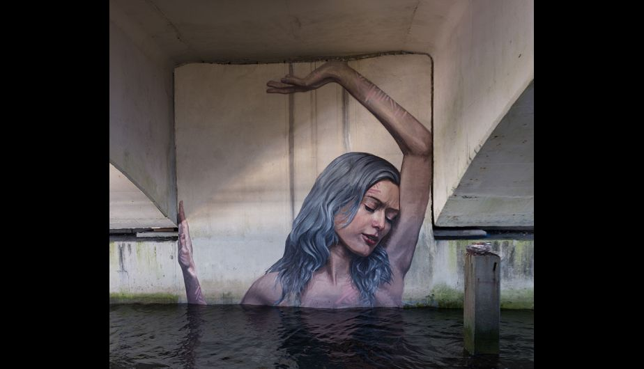 Mira Estos Asombrosos Murales Que Interactuan Con El Agua