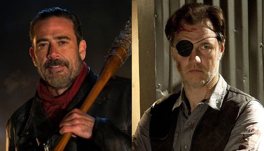 The Walking Dead Negan Vs Gobernador Quién Ganaría En Una Guerra Según Jeffrey Dean Morgan Temporada 7 Tv Espectáculos La Prensa Peru