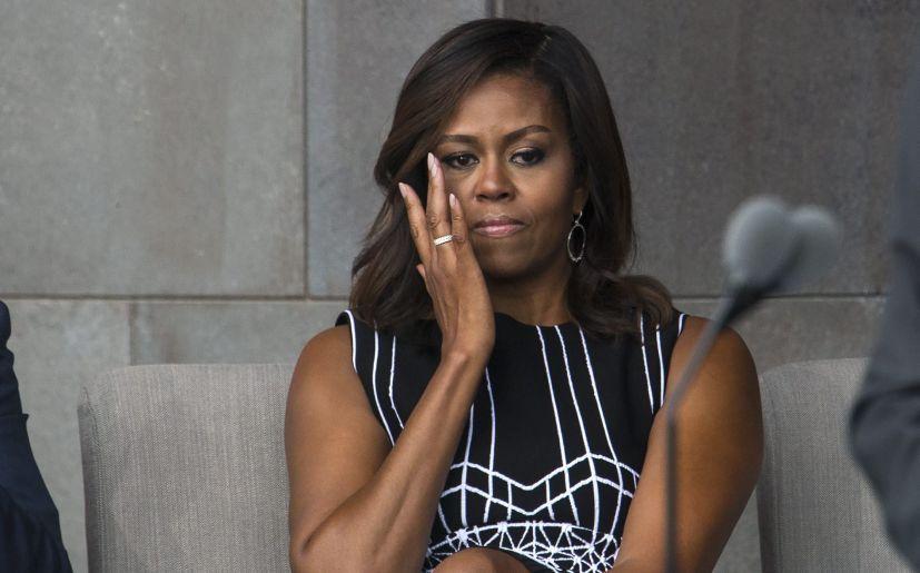 """Michelle Obama sobre Donald Trump: """"Necesitamos un adulto en la Casa ..."""