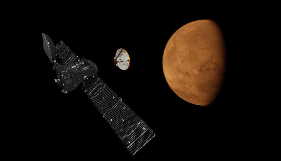 Agridulce: Schiaparelli se estrelló, pero Orbitador Gases Traza entró en órbita. (Foto: ESA)