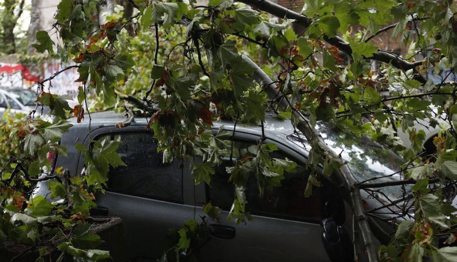 Intensas lluvias en Uruguay causaron severos destrozos y daños en Montevideo y otras provincias (EFE)