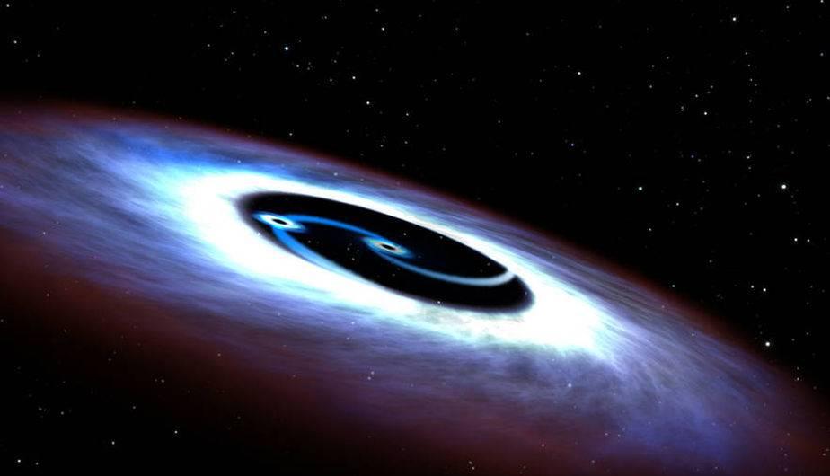 Un agujero negro. (Foto: NASA)
