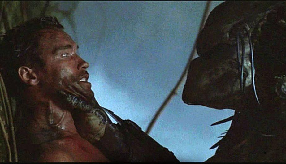 Arnold Schwarzenegger en Depredador