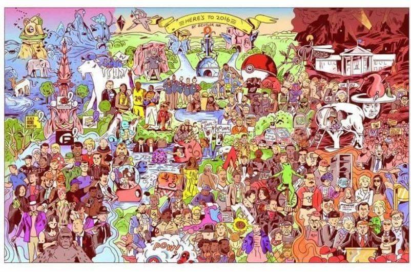¿Dónde está Negan? (Foto: Facebook)