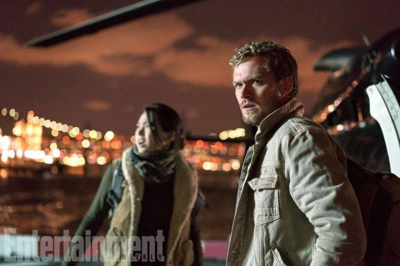 Jessica Henwick es Colleen Wing y Finn Jones es Iron Fist en 'The Defenders' (Foto: Netflix)