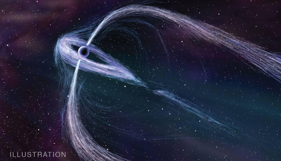 Resultado de imagen de emisión de radio de los púlsares