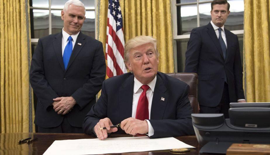 Donald Trump asumió la presidencia de Estados Unidos el viernes 20 de enero (EFE)