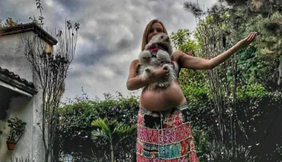 La actriz venezolana ya tiene en sus brazos a Matías y agradeció a Dios por permitirle tener una familia feliz con Julián Gil. (Foto: Instagram)