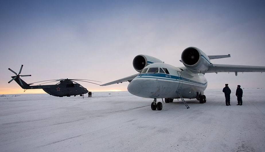 Presencia militar rusa en el Ártico. (Foto: Ministerio de Defensa de Rusia)