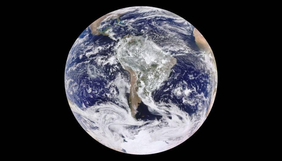 Foto de la Tierra 'mejorada'. (Foto: NASA)