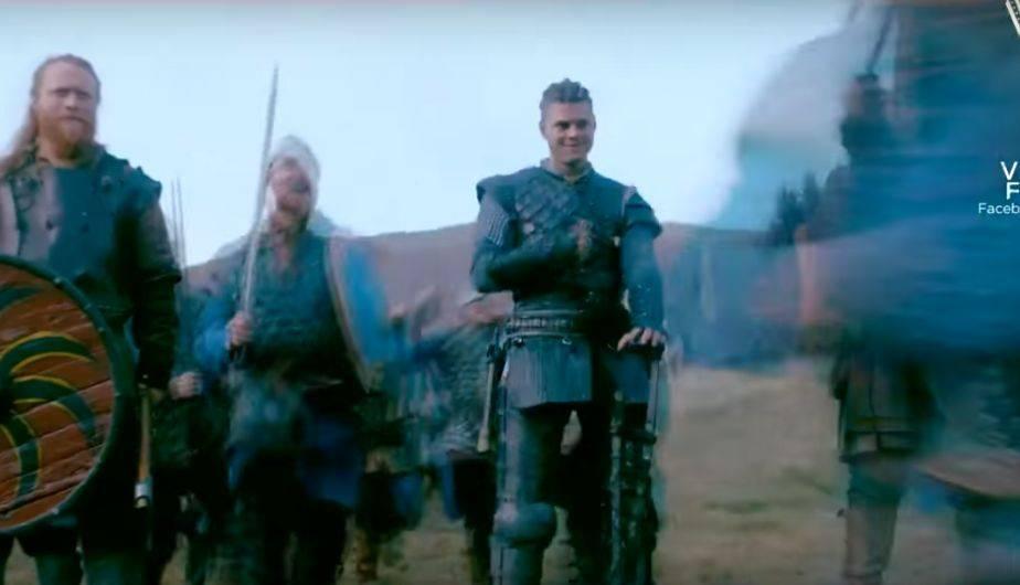 1. IVAR ESTÁ DE PIE SIN SU COCHE (Foto: Vikings / History)