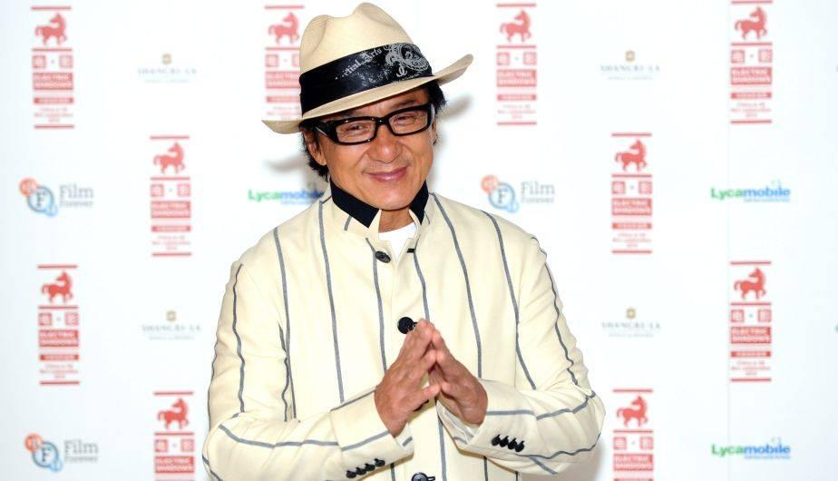 Jackie Chan es una de las grandes estrellas mundiales (Foto: Getty Images)