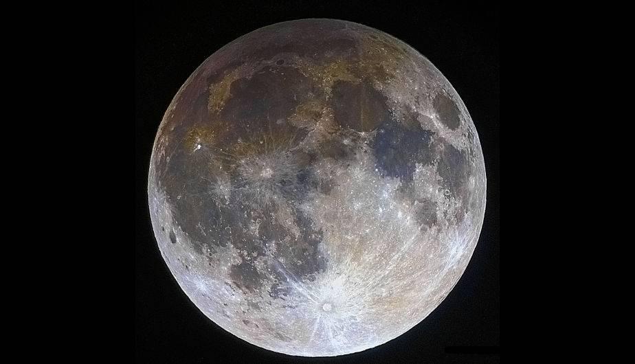 La Luna, satélite de la Tierra. (Foto: NASA)