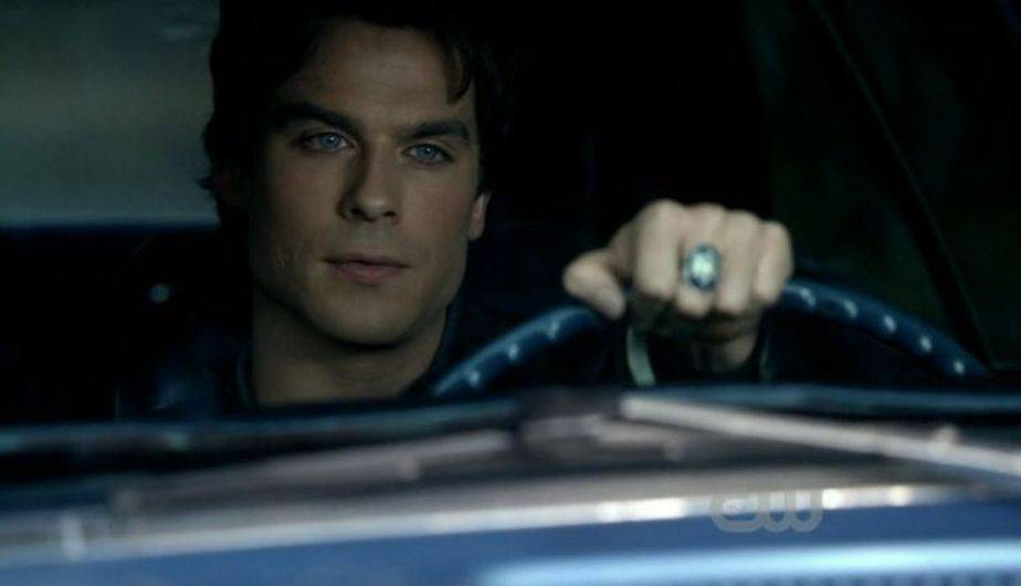 Ian Somerhalder es Damon Salvatore en 'The Vampire Diaries' (Foto: The CW)