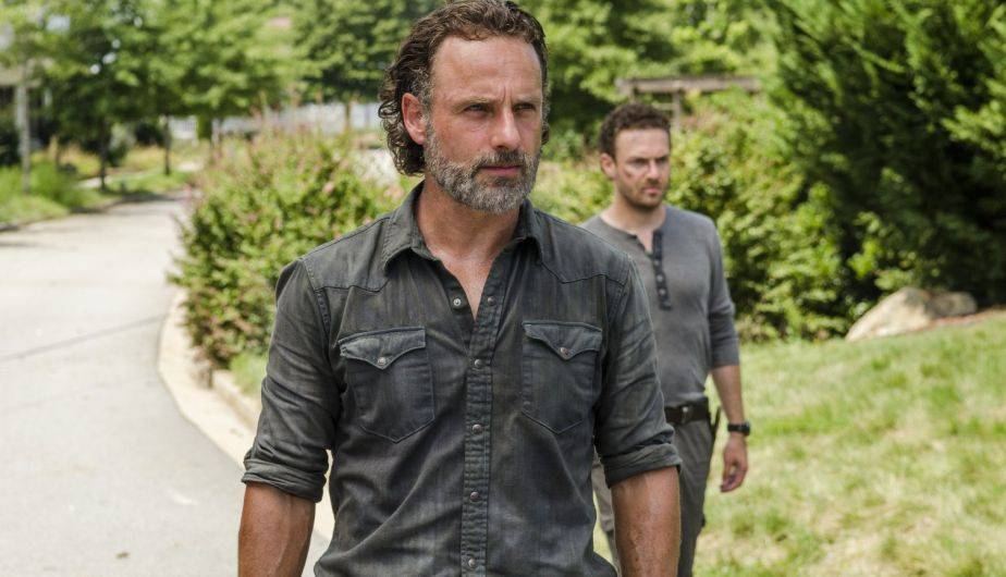 Andrew Lincoln es Rick Grimes en 'The Walking Dead' (Foto: AMC)