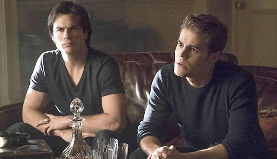 Ian Somerhalder es Damon y Paul Wesley es Stefan en 'The Vampire Diaries' (Foto: The CW)