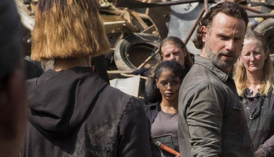 Andrew Lincoln es Rick Grimes en 'The Walking Dead' (Foto: AMC)