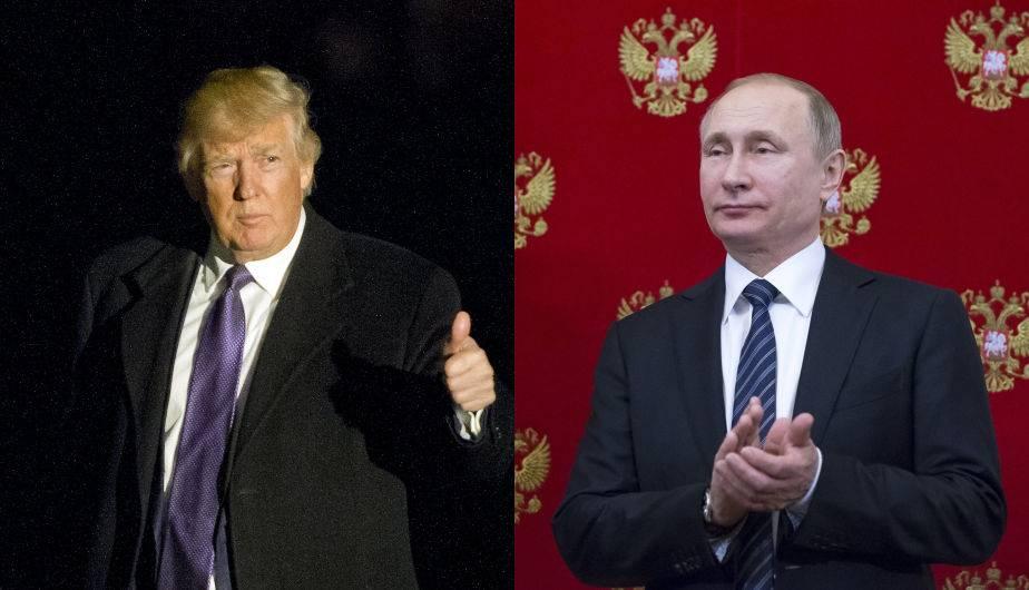 Donald Trump y Vladimir Putin. (Foto: EFE)