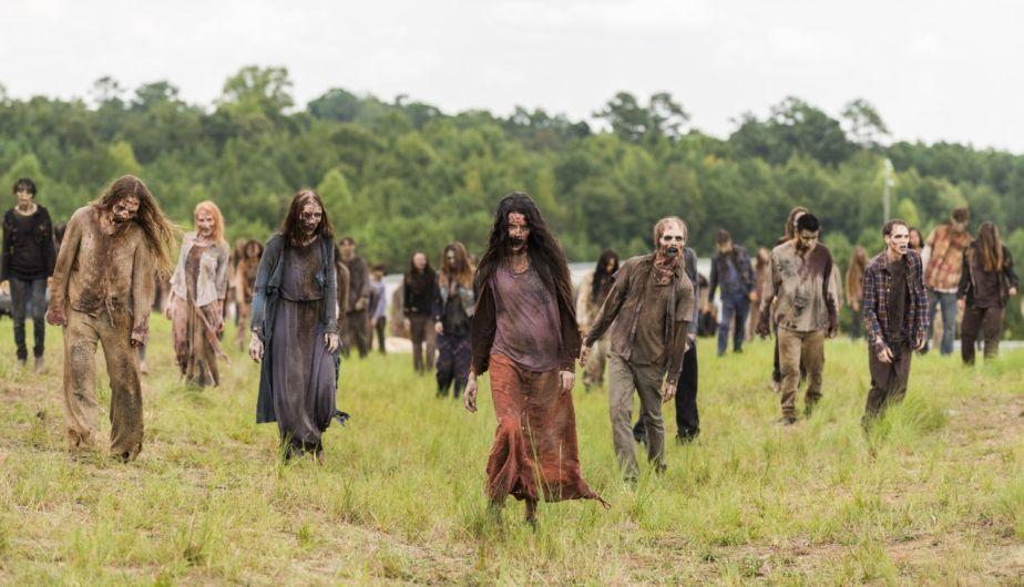 Zombis en 'The Walking Dead' (Foto: AMC)