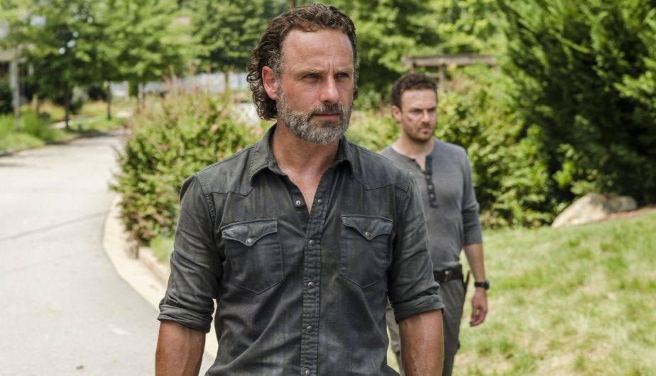Andrew Lincoln es Rick y Ross Marquand es Aaron en 'The Walking Dead' (Foto: AMC)