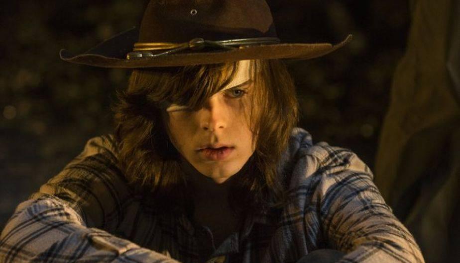 Chandler Riggs es Carl Grimes en 'The Walking Dead' (Foto: AMC)