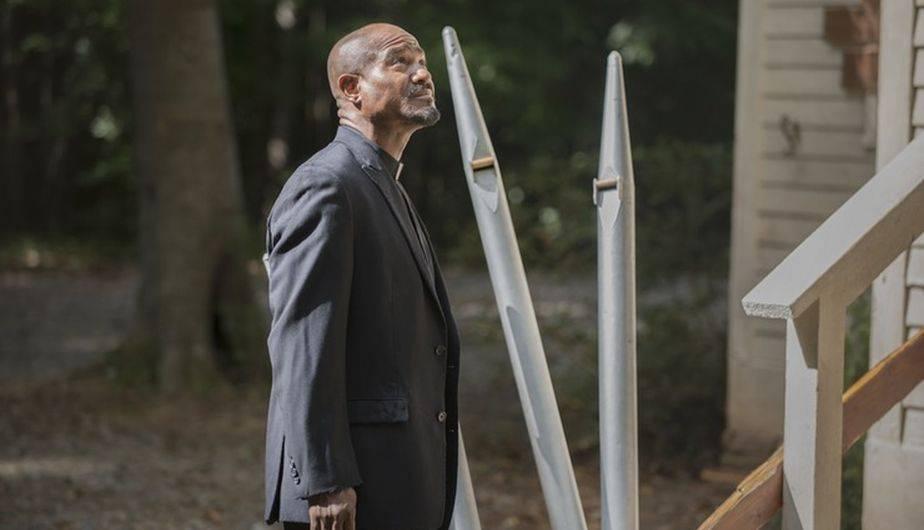 Seth Gilliam es el padre Gabriel en 'The Walking Dead' (Foto: AMC)