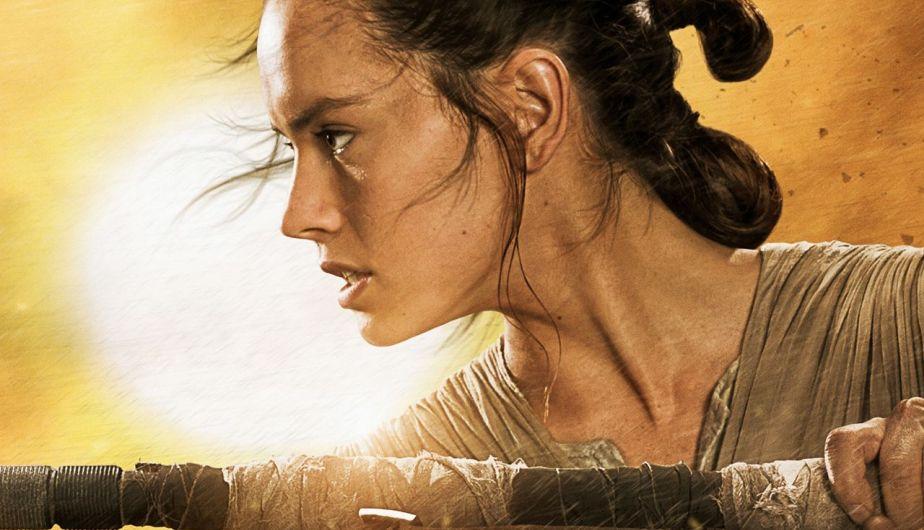 Daisy Ridley es Rey en 'Star Wars' (Foto: Lucasfilm)