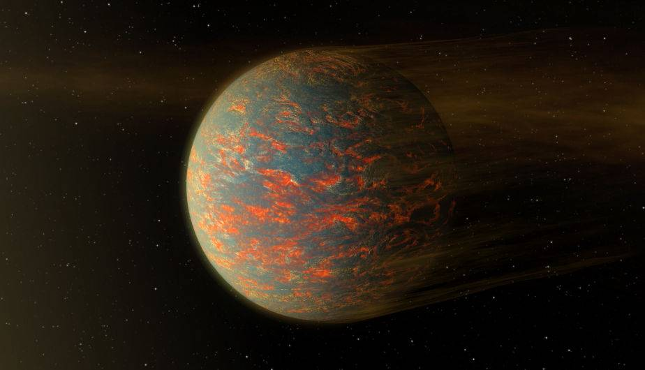 55 Cancri e, un exoplaneta. (Foto: NASA)