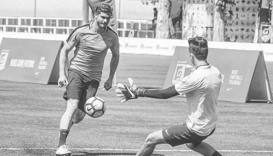 Horacio Pancheri es un amante del deporte y además del gimnasio suele disfrutar del fútbol. (Foto: Instagram)