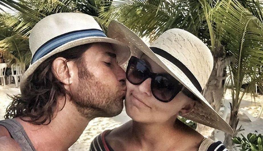 Los actores Angelique Boyer y Sebastián Rulli vivieron un momento mágico durante sus vacaciones en México. (Foto: Instagram)