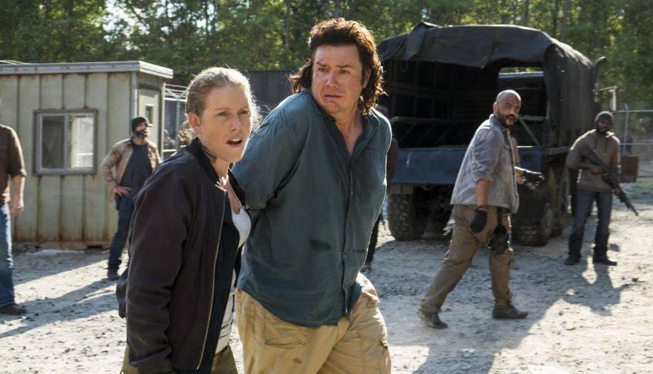 Eugene sobrevivó sus primeros días en el Santuario 'gracias' a Abraham (Foto: The Walking Dead / AMC)