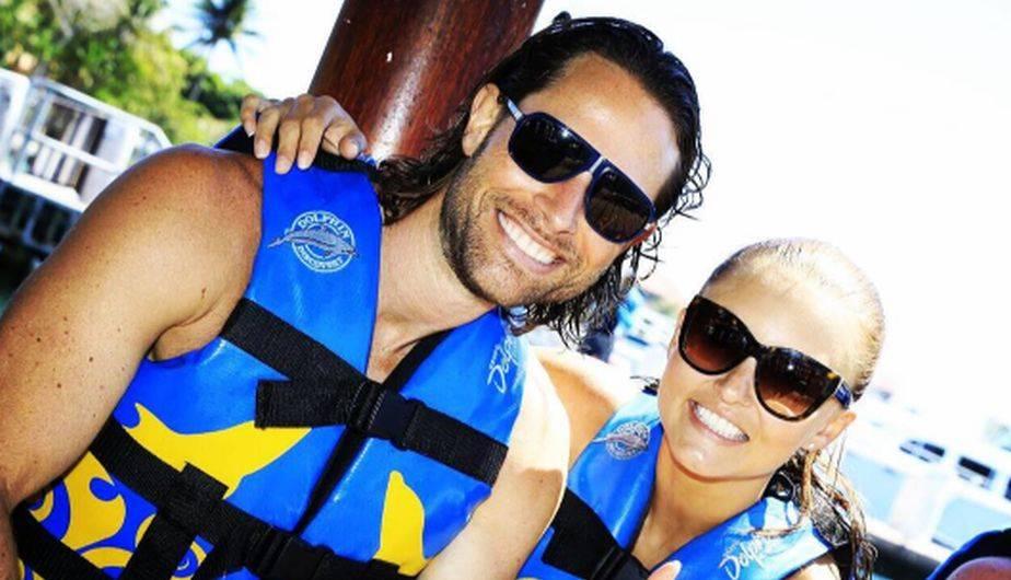 Los actores Angelique Boyer y Sebastián Rulli continúan disfrutando de sus vacaciones en la Riviera Maya. (Foto: Instagram)