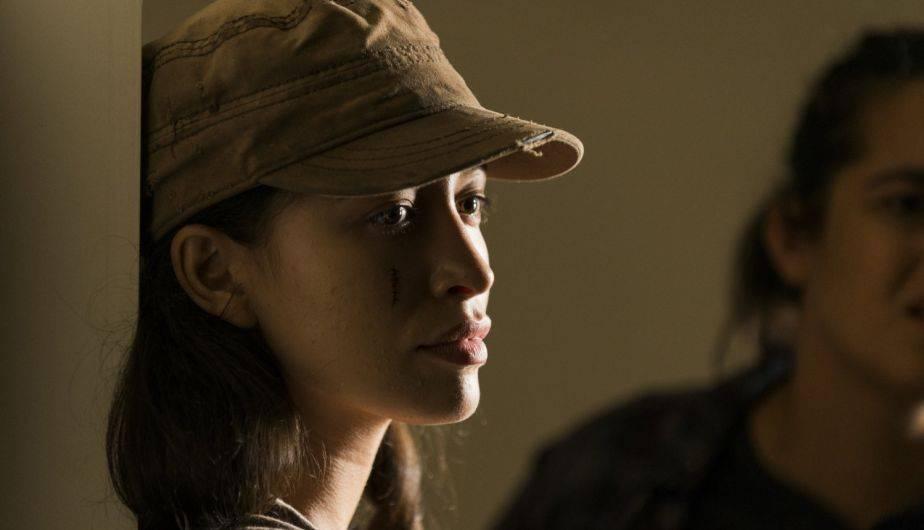 La actriz que encarna a Rosita espera su primer hijo con su novio David Boyd (Foto: The Walking Dead / AMC)