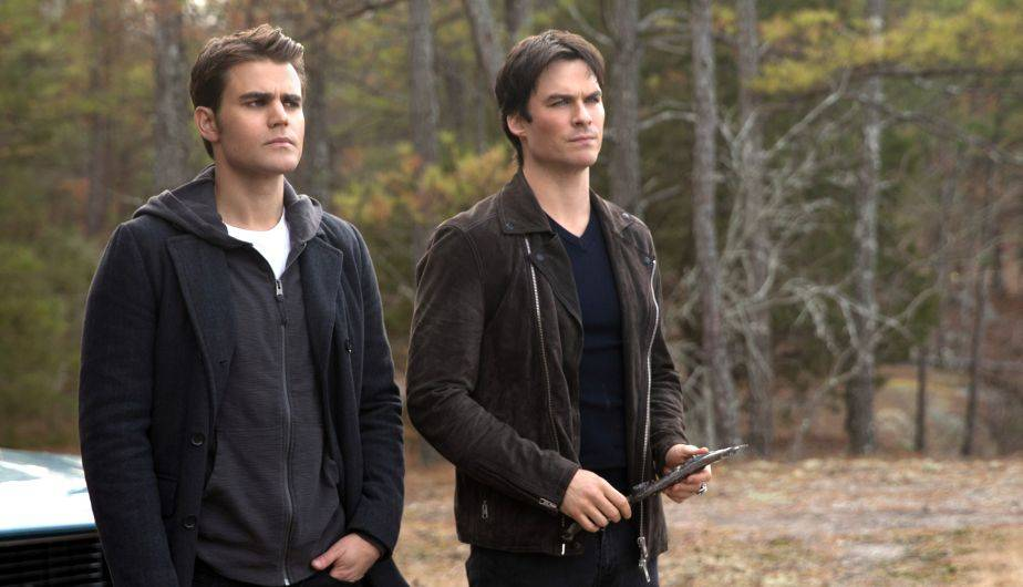 Paul Wesley e Ian Somerhalder están a punto de cerrar el capítulo de 'The Vampire Diaries' (Foto: The CW)