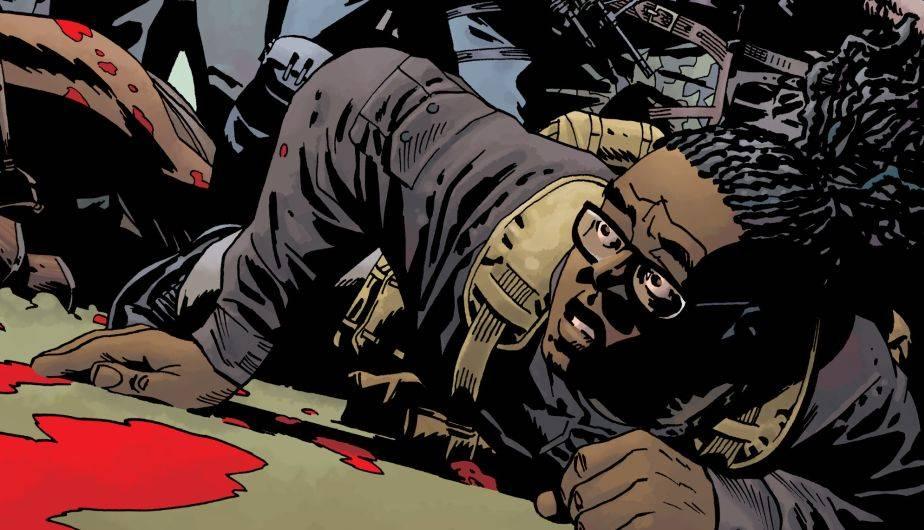Uno de los personajes principales de 'The Walking Dead' fue supuestamente mordido o arañado por walkers (Foto: Image Comics)