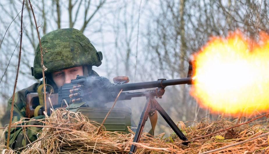 Ejercicios militares. (Foto: Ministerio de Defensa de Rusia)