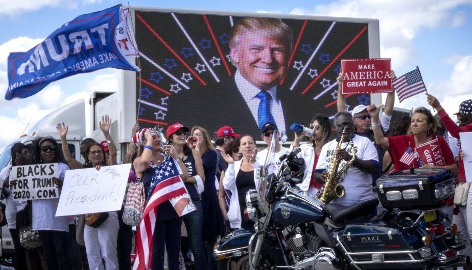 Donald Trump también tiene simpatizantes en Estados Unidos (Foto: EFE)