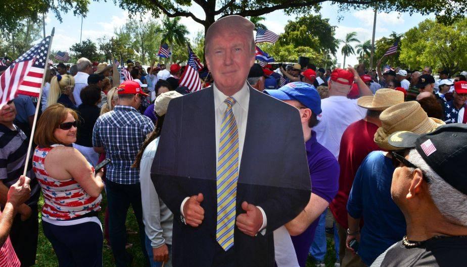 Incluso llegaron a la residencia de Donald Trump en Mar-a-Lagon, en Florida (Foto: EFE)