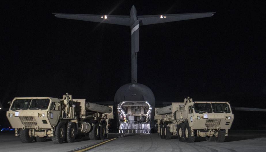 Sistema avanzado de misiles de EEUU llega a Corea del Sur. (Foto: US Pacific Command)