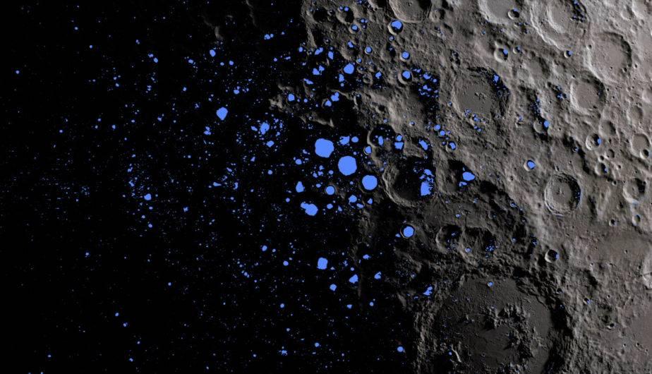 La Luna, satélite de la Tierra. (Foto. NASA)